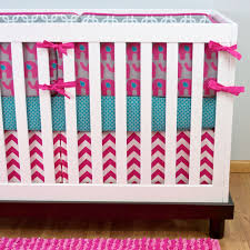 baby bedding sets chevron crib image of girls beauteous pink