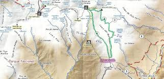 Sierra Nevada Mountains Map Mulhacen Sierra Nevada National Park Spain
