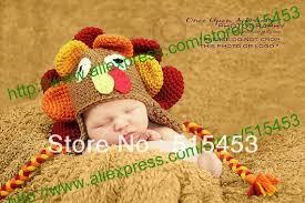 free shipping baby thanksgiving turkey hat crochet boy