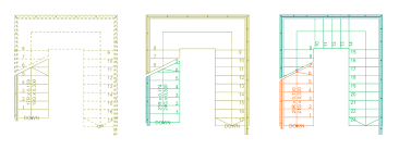 Stair Floor Plan Stair Basics U2013 Editing And Refining The Floor Plan Representation