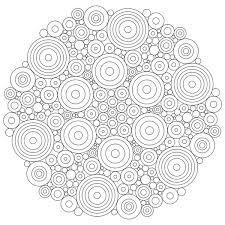 mandala circles coloring pages free mandala circles coloring pages