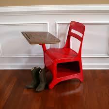 kids desk chair combo old vintage desk and chair by american desks crusader