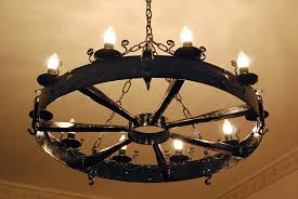 Antique Iron Chandeliers Wrought Iron Chandelier Amazing Home Design