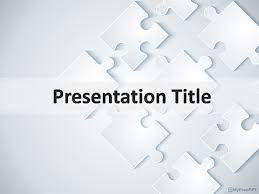 Puzzle Background For Powerpoint Free Puzzle Pieces Powerpoint Puzzle Powerpoint Template Free