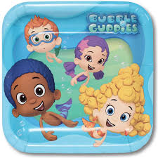 bubble guppies lunch plates 8 dollar carousel