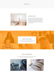free interior design business page template for beaver builder