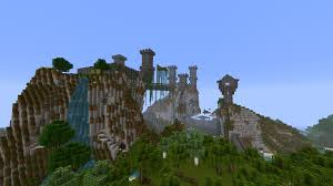 minecraft castle by skrufor on deviantart