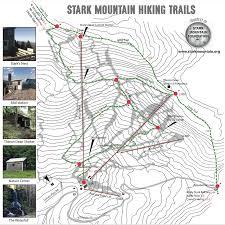 Hiking Maps Stark Mountain Foundation