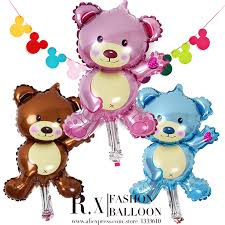 teddy balloons 38 18cm mini teddy children s toys party decoration foil