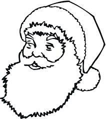 printable list coloring pages santa claus free sleigh reindeer