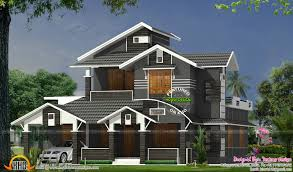 Kerala Home Design July 2015 by Houses With Slanted Roofs Christmas Ideas Best Image Libraries
