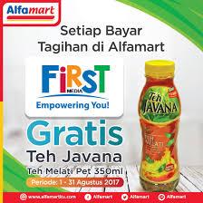 Teh Javana 350ml alfamart on gratis teh javana teh melati pet 350ml setiap