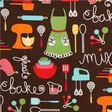 eclectic fallos ring holder images Tela marr n utensilios cocina delantal de robert kaufman telas jpg