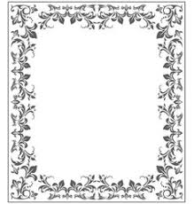 frame with vintage ornament royalty free vector