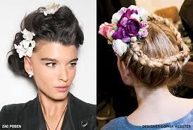 designer hair accessories the 3 prettiest ways to wear floral hair accessories