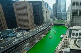 watch the chicago river turn green for st patrick u0027s day video