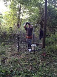 Ghost Hunting Blinds Gravity Deer Feeder My Done Pinject Pinterest Gravity Deer