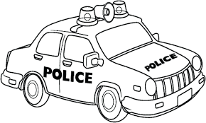 real police car coloring pages printables print free sheets police