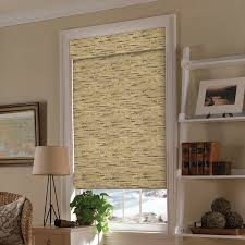 rustic window treatments and coverings selectblinds com these shoreline cordless woven woods complement any rustic design