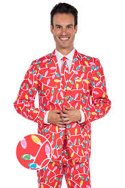christmas suits the power hour christmas blazer jacket w tie tipsy elves
