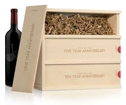 wine wedding gift celebrate the happy with wine for future anniversaries
