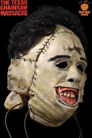 leatherface costume trick or treat studios chainsaw leatherface mask