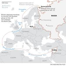 Where Is Syria On The Map by Russia Sends Warships Toward Syria Via The English Channel U2014 And
