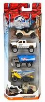 jurassic park car toy matchbox jurassic world 1 64 vehicle 5 pack styles may vary