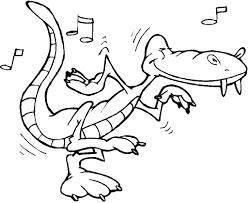 alligator coloring pages 8170