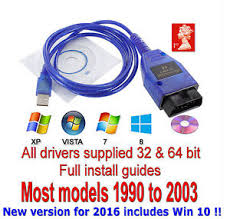 vag com cable audi usb cable kkl vag com 409 1 obd2 ii obd diagnostic scanner vw audi