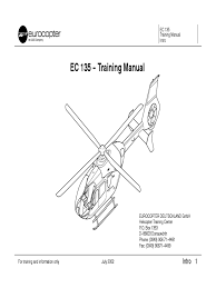 ec 135 training manual cockpit aerospace engineering