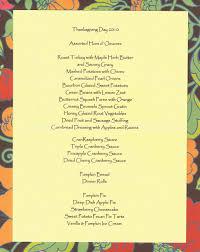 thanksgiving day dinner menu 11 best photos of thanksgiving menu food traditional