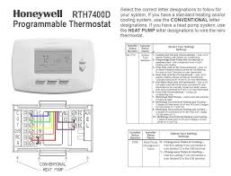 honeywell programmable thermostat wiring diagram u0026 honeywell