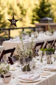 Mismatched Vases Wedding Park City Utah Wedding