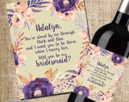 will you be my bridesmaid poems bridesmaid poem etsy