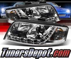 audi rs6 headlights sonar drl led projector headlights 02 04 audi rs6 rs 6 pro yd