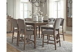 Ashley Furniture Dining Room Sets Kitchen Dining Room Tables - Tanshire counter height dining room table price