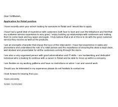 elegant covering letter for retail 73 in online cover letter