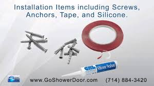 Bathroom Shower Door Replacement by The Shower Door Shop Offers Replacement Parts And Accessories