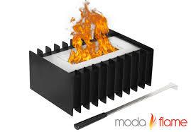ethanol fireplace insert interior design