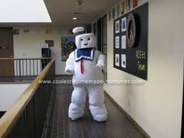 Stay Puft Marshmallow Man Costume Coolest Stay Puft Marshmallow Man Diy Costume Marshmallow Man