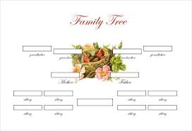 28 images of editable blank family tree template with siblings
