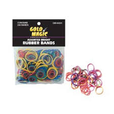 hair rubber bands pack of 250 small assorted elastic rubber bands for