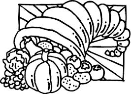 thanksgiving cornucopia coloring pages 3 purple