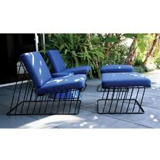 Outdoor Lounge Chair Wired Italic Outdoor Lounge Chair And Outdoor Ottoman