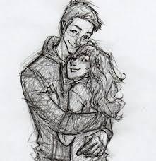 cartoons hd boy hugs pencil art drawing of sketch drawing