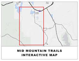 Park City Utah Map Trails Basin Recreation