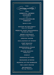 formal wedding program wording wedding program ideas kylaza nardi