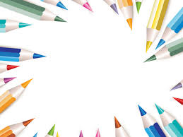 free pencil frame backgrounds for powerpoint education ppt templates