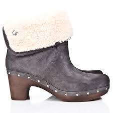 womens ugg lynnea boots 30 simple grey leather ankle boots for womens sobatapk com